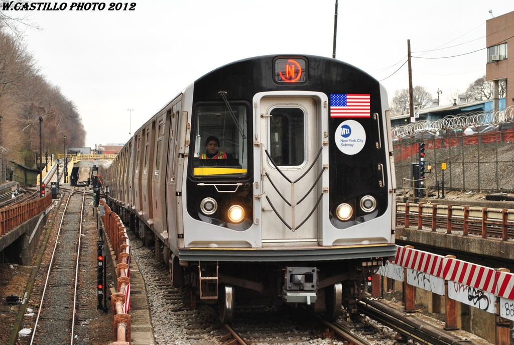 (332k, 1024x687)<br><b>Country:</b> United States<br><b>City:</b> New York<br><b>System:</b> New York City Transit<br><b>Line:</b> BMT West End Line<br><b>Location:</b> 9th Avenue <br><b>Route:</b> N reroute<br><b>Car:</b> R-160A/R-160B Series (Number Unknown)  <br><b>Photo by:</b> Wilfredo Castillo<br><b>Date:</b> 3/1/2012<br><b>Viewed (this week/total):</b> 1 / 1027
