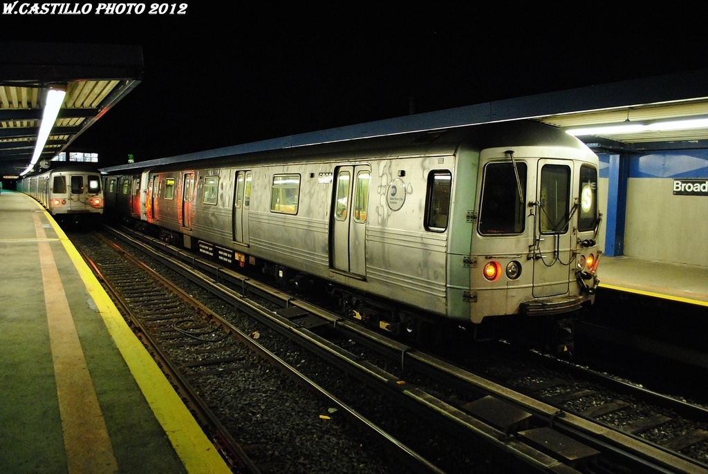 (297k, 1024x686)<br><b>Country:</b> United States<br><b>City:</b> New York<br><b>System:</b> New York City Transit<br><b>Line:</b> IND Rockaway<br><b>Location:</b> Broad Channel <br><b>Route:</b> S<br><b>Car:</b> R-46 (Pullman-Standard, 1974-75) 5908 <br><b>Photo by:</b> Wilfredo Castillo<br><b>Date:</b> 3/3/2012<br><b>Viewed (this week/total):</b> 1 / 963