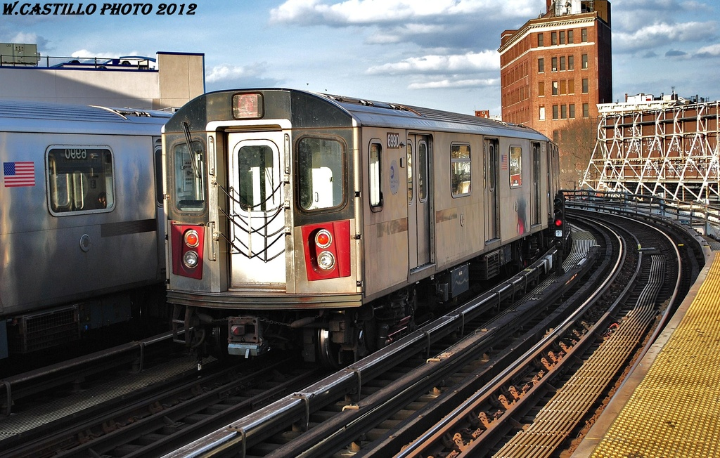 (371k, 1024x652)<br><b>Country:</b> United States<br><b>City:</b> New York<br><b>System:</b> New York City Transit<br><b>Line:</b> IRT White Plains Road Line<br><b>Location:</b> Simpson Street <br><b>Route:</b> 5<br><b>Car:</b> R-142 (Option Order, Bombardier, 2002-2003)  6990 <br><b>Photo by:</b> Wilfredo Castillo<br><b>Date:</b> 3/8/2012<br><b>Viewed (this week/total):</b> 0 / 1301