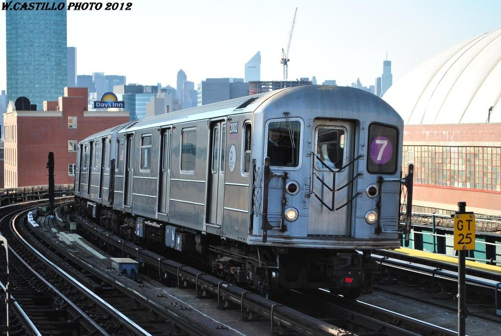 (294k, 1024x687)<br><b>Country:</b> United States<br><b>City:</b> New York<br><b>System:</b> New York City Transit<br><b>Line:</b> IRT Flushing Line<br><b>Location:</b> 33rd Street/Rawson Street <br><b>Route:</b> 7<br><b>Car:</b> R-62A (Bombardier, 1984-1987)  2002 <br><b>Photo by:</b> Wilfredo Castillo<br><b>Date:</b> 3/6/2012<br><b>Viewed (this week/total):</b> 1 / 888
