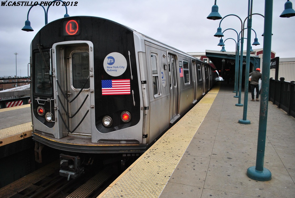 (294k, 1024x687)<br><b>Country:</b> United States<br><b>City:</b> New York<br><b>System:</b> New York City Transit<br><b>Line:</b> BMT Canarsie Line<br><b>Location:</b> Broadway Junction <br><b>Route:</b> L<br><b>Car:</b> R-143 (Kawasaki, 2001-2002) 8301 <br><b>Photo by:</b> Wilfredo Castillo<br><b>Date:</b> 3/15/2012<br><b>Viewed (this week/total):</b> 4 / 767