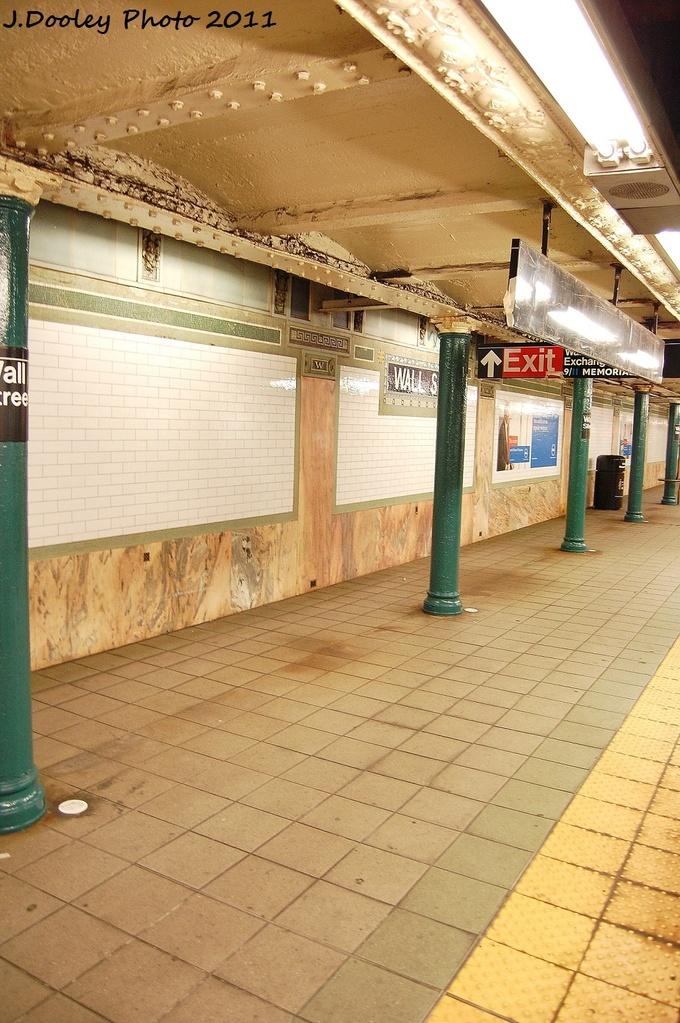 (356k, 680x1023)<br><b>Country:</b> United States<br><b>City:</b> New York<br><b>System:</b> New York City Transit<br><b>Line:</b> IRT East Side Line<br><b>Location:</b> Wall Street <br><b>Photo by:</b> John Dooley<br><b>Date:</b> 10/28/2011<br><b>Viewed (this week/total):</b> 0 / 899