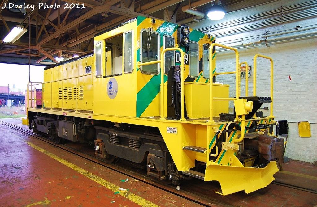 (399k, 1024x670)<br><b>Country:</b> United States<br><b>City:</b> New York<br><b>System:</b> New York City Transit<br><b>Location:</b> Coney Island Shop-Paint Shop<br><b>Car:</b> R-47 Locomotive  69 <br><b>Photo by:</b> John Dooley<br><b>Date:</b> 8/26/2011<br><b>Viewed (this week/total):</b> 0 / 613