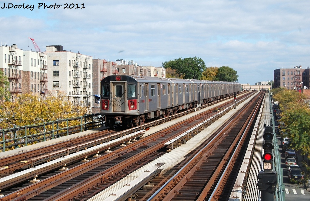 (389k, 1024x663)<br><b>Country:</b> United States<br><b>City:</b> New York<br><b>System:</b> New York City Transit<br><b>Line:</b> IRT Woodlawn Line<br><b>Location:</b> Bedford Park Boulevard <br><b>Route:</b> 4<br><b>Car:</b> R-142 (Option Order, Bombardier, 2002-2003)  1136 <br><b>Photo by:</b> John Dooley<br><b>Date:</b> 10/23/2011<br><b>Viewed (this week/total):</b> 1 / 938