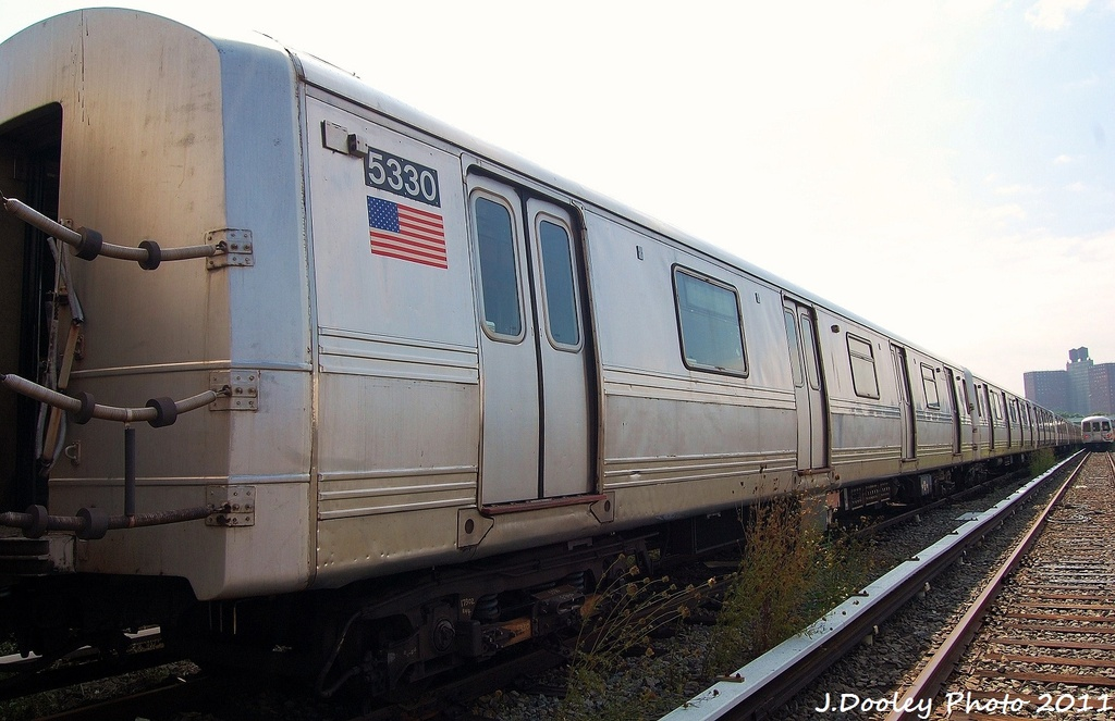 (281k, 1024x663)<br><b>Country:</b> United States<br><b>City:</b> New York<br><b>System:</b> New York City Transit<br><b>Location:</b> Coney Island Yard<br><b>Car:</b> R-44 (St. Louis, 1971-73) 5330 <br><b>Photo by:</b> John Dooley<br><b>Date:</b> 8/26/2011<br><b>Viewed (this week/total):</b> 0 / 426