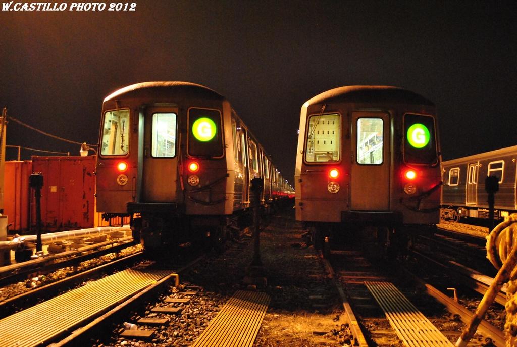 (317k, 1024x687)<br><b>Country:</b> United States<br><b>City:</b> New York<br><b>System:</b> New York City Transit<br><b>Location:</b> Coney Island Yard<br><b>Car:</b> R-68A (Kawasaki, 1988-1989)  5040 <br><b>Photo by:</b> Wilfredo Castillo<br><b>Date:</b> 2/22/2012<br><b>Viewed (this week/total):</b> 2 / 1013
