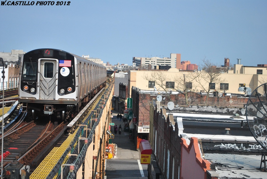 (326k, 1024x687)<br><b>Country:</b> United States<br><b>City:</b> New York<br><b>System:</b> New York City Transit<br><b>Line:</b> BMT Nassau Street/Jamaica Line<br><b>Location:</b> 121st Street <br><b>Route:</b> J<br><b>Car:</b> R-160A-1 (Alstom, 2005-2008, 4 car sets)  8541 <br><b>Photo by:</b> Wilfredo Castillo<br><b>Date:</b> 3/23/2012<br><b>Viewed (this week/total):</b> 0 / 1253