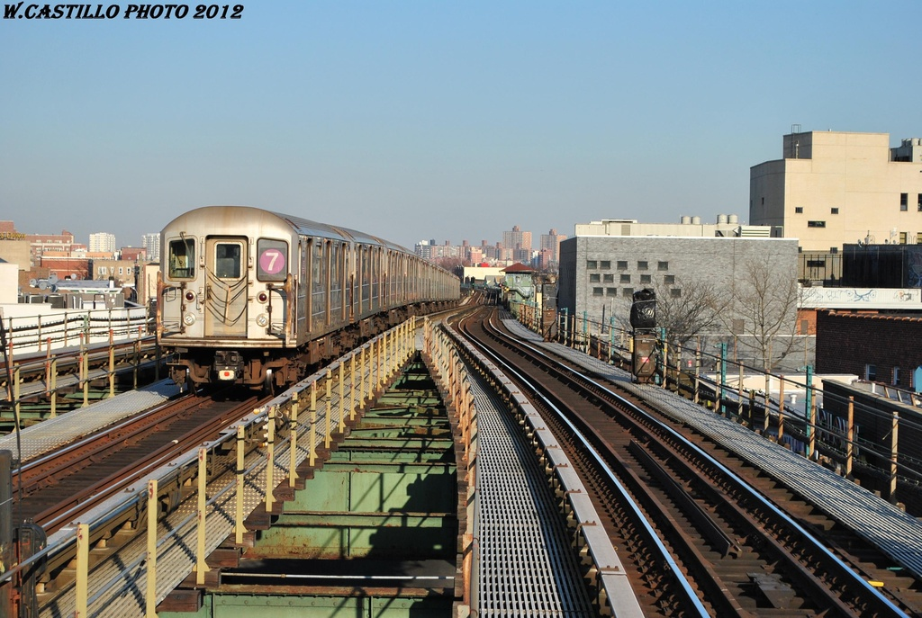(339k, 1024x687)<br><b>Country:</b> United States<br><b>City:</b> New York<br><b>System:</b> New York City Transit<br><b>Line:</b> IRT Flushing Line<br><b>Location:</b> Junction Boulevard <br><b>Route:</b> 7<br><b>Car:</b> R-62A (Bombardier, 1984-1987)  1791 <br><b>Photo by:</b> Wilfredo Castillo<br><b>Date:</b> 3/6/2012<br><b>Viewed (this week/total):</b> 3 / 1008