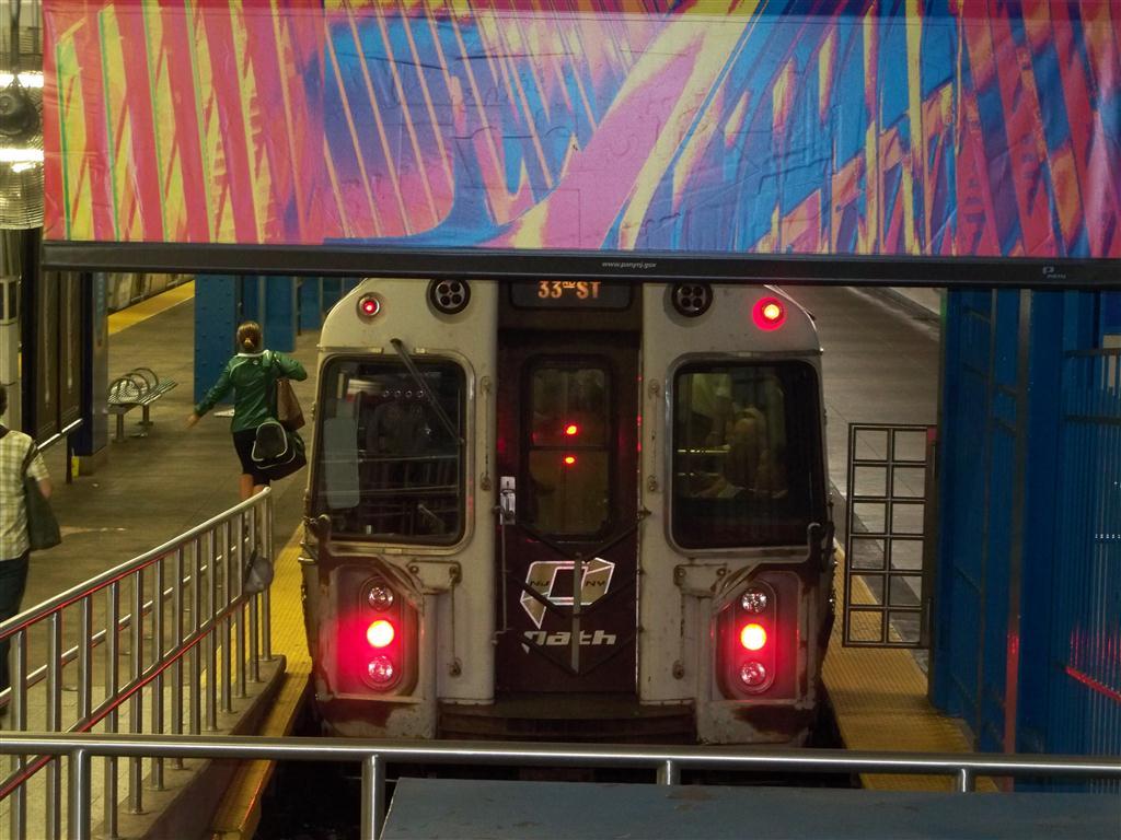 (137k, 1024x768)<br><b>Country:</b> United States<br><b>City:</b> New York<br><b>System:</b> PATH<br><b>Location:</b> 33rd Street <br><b>Car:</b> PATH PA-4 (Kawasaki, 1986)   <br><b>Photo by:</b> Fran Rogers<br><b>Date:</b> 9/16/2010<br><b>Viewed (this week/total):</b> 1 / 699