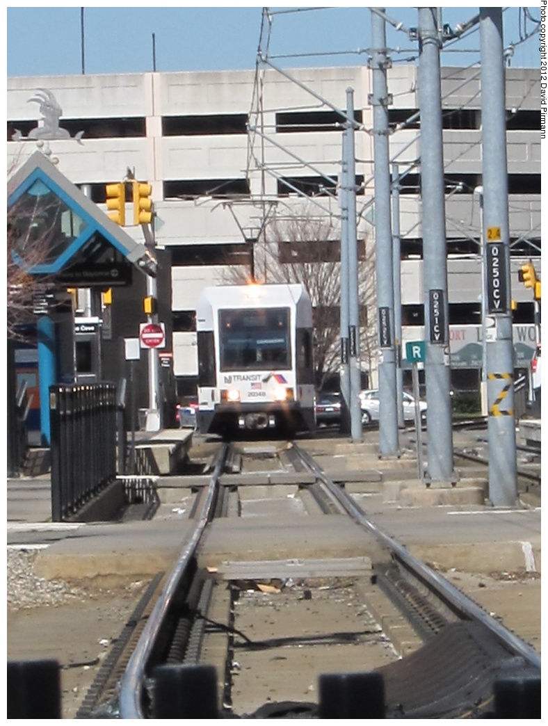 (284k, 788x1044)<br><b>Country:</b> United States<br><b>City:</b> Jersey City, NJ<br><b>System:</b> Hudson Bergen Light Rail<br><b>Location:</b> Harsimus Cove <br><b>Car:</b> NJT-HBLR LRV (Kinki-Sharyo, 1998-99)  2034 <br><b>Photo by:</b> David Pirmann<br><b>Date:</b> 3/11/2012<br><b>Viewed (this week/total):</b> 1 / 437