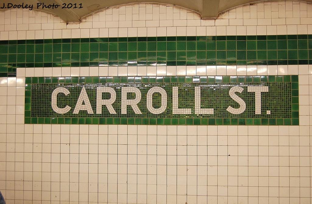 (347k, 1024x672)<br><b>Country:</b> United States<br><b>City:</b> New York<br><b>System:</b> New York City Transit<br><b>Line:</b> IND Crosstown Line<br><b>Location:</b> Carroll Street <br><b>Photo by:</b> John Dooley<br><b>Date:</b> 11/24/2011<br><b>Viewed (this week/total):</b> 8 / 1010