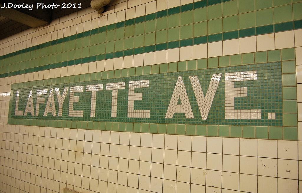 (336k, 1024x657)<br><b>Country:</b> United States<br><b>City:</b> New York<br><b>System:</b> New York City Transit<br><b>Line:</b> IND Fulton Street Line<br><b>Location:</b> Lafayette Avenue <br><b>Photo by:</b> John Dooley<br><b>Date:</b> 11/25/2011<br><b>Viewed (this week/total):</b> 0 / 814