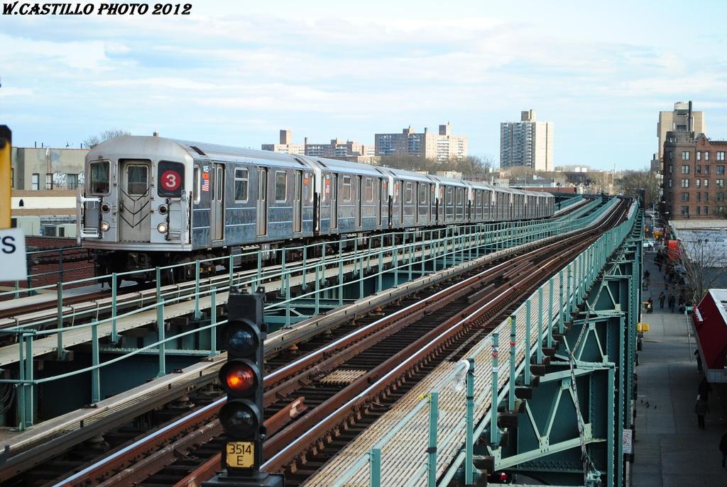 (342k, 1024x687)<br><b>Country:</b> United States<br><b>City:</b> New York<br><b>System:</b> New York City Transit<br><b>Line:</b> IRT Brooklyn Line<br><b>Location:</b> Saratoga Avenue <br><b>Route:</b> 3<br><b>Car:</b> R-62 (Kawasaki, 1983-1985)  1485 <br><b>Photo by:</b> Wilfredo Castillo<br><b>Date:</b> 3/29/2012<br><b>Viewed (this week/total):</b> 0 / 918
