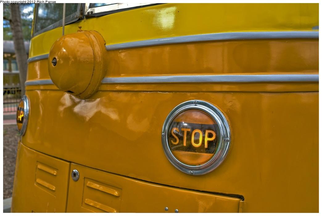 (181k, 1044x702)<br><b>Country:</b> United States<br><b>City:</b> Perris, CA<br><b>System:</b> Orange Empire Railway Museum <br><b>Car:</b> PCC  3001 <br><b>Photo by:</b> Richard Panse<br><b>Date:</b> 2012<br><b>Viewed (this week/total):</b> 0 / 793