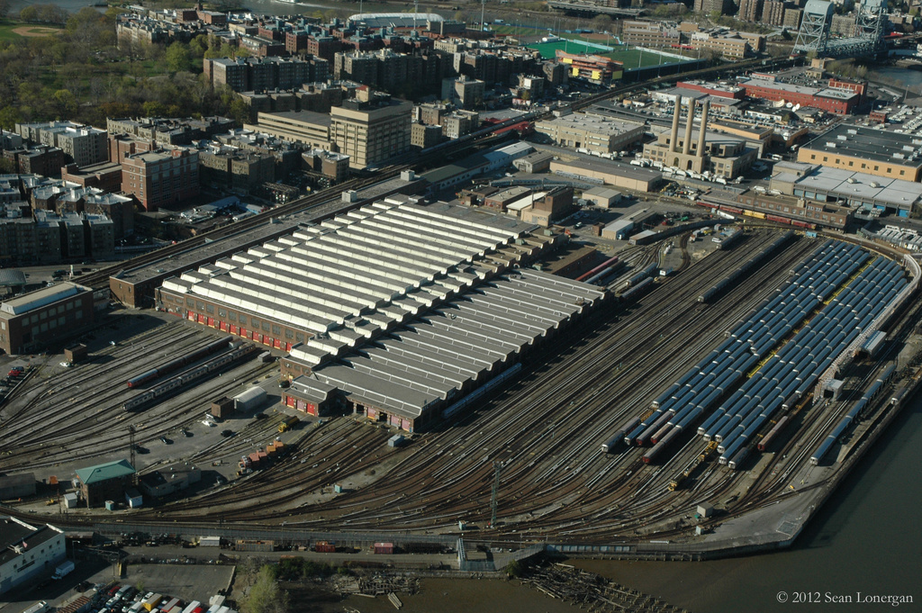 (514k, 1024x681)<br><b>Country:</b> United States<br><b>City:</b> New York<br><b>System:</b> New York City Transit<br><b>Location:</b> 207th Street Yard<br><b>Photo by:</b> Sean Lonergan<br><b>Date:</b> 4/7/2012<br><b>Viewed (this week/total):</b> 0 / 960