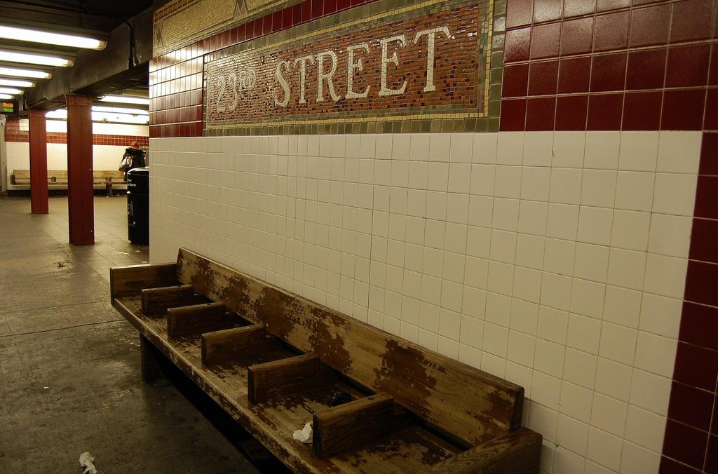 (301k, 1024x676)<br><b>Country:</b> United States<br><b>City:</b> New York<br><b>System:</b> New York City Transit<br><b>Line:</b> IRT West Side Line<br><b>Location:</b> 23rd Street <br><b>Photo by:</b> John Dooley<br><b>Date:</b> 2/26/2012<br><b>Viewed (this week/total):</b> 2 / 914