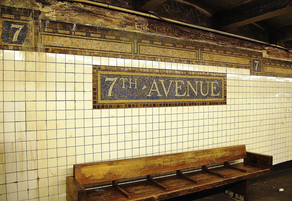 (483k, 1024x704)<br><b>Country:</b> United States<br><b>City:</b> New York<br><b>System:</b> New York City Transit<br><b>Line:</b> BMT Brighton Line<br><b>Location:</b> 7th Avenue <br><b>Photo by:</b> John Dooley<br><b>Date:</b> 10/11/2011<br><b>Viewed (this week/total):</b> 4 / 944