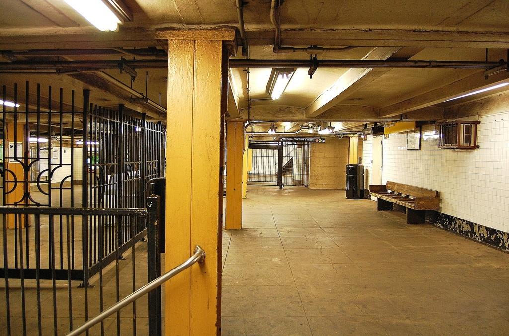(409k, 1024x677)<br><b>Country:</b> United States<br><b>City:</b> New York<br><b>System:</b> New York City Transit<br><b>Line:</b> BMT Brighton Line<br><b>Location:</b> 7th Avenue <br><b>Photo by:</b> John Dooley<br><b>Date:</b> 10/11/2011<br><b>Viewed (this week/total):</b> 3 / 1262