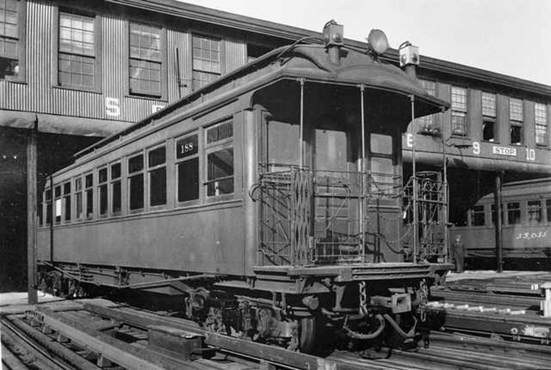 (147k, 800x538)<br><b>Country:</b> United States<br><b>City:</b> New York<br><b>System:</b> New York City Transit<br><b>Location:</b> Lenox/148th St. Yard<br><b>Car:</b> Manhattan El 188 <br><b>Collection of:</b> Frank Pfuhler<br><b>Viewed (this week/total):</b> 0 / 1277