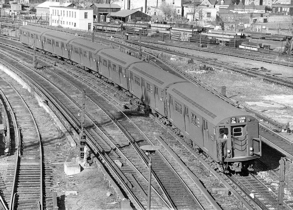 (445k, 1024x736)<br><b>Country:</b> United States<br><b>City:</b> New York<br><b>System:</b> New York City Transit<br><b>Line:</b> IRT White Plains Road Line<br><b>Location:</b> East 180th Street <br><b>Route:</b> 2<br><b>Car:</b> R-21 (St. Louis, 1956-57) 7221 <br><b>Collection of:</b> Frank Pfuhler<br><b>Date:</b> 4/21/1962<br><b>Viewed (this week/total):</b> 1 / 1194