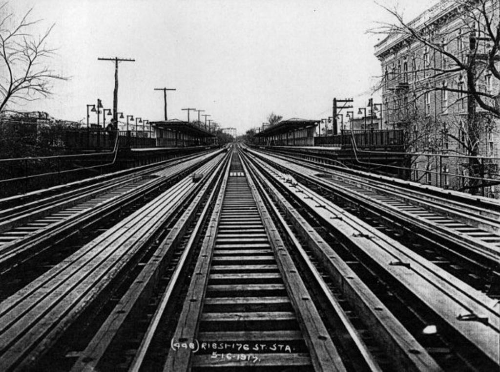 (280k, 1024x761)<br><b>Country:</b> United States<br><b>City:</b> New York<br><b>System:</b> New York City Transit<br><b>Line:</b> IRT Woodlawn Line<br><b>Location:</b> 176th Street <br><b>Collection of:</b> Frank Pfuhler<br><b>Date:</b> 5/16/1919<br><b>Viewed (this week/total):</b> 0 / 1521