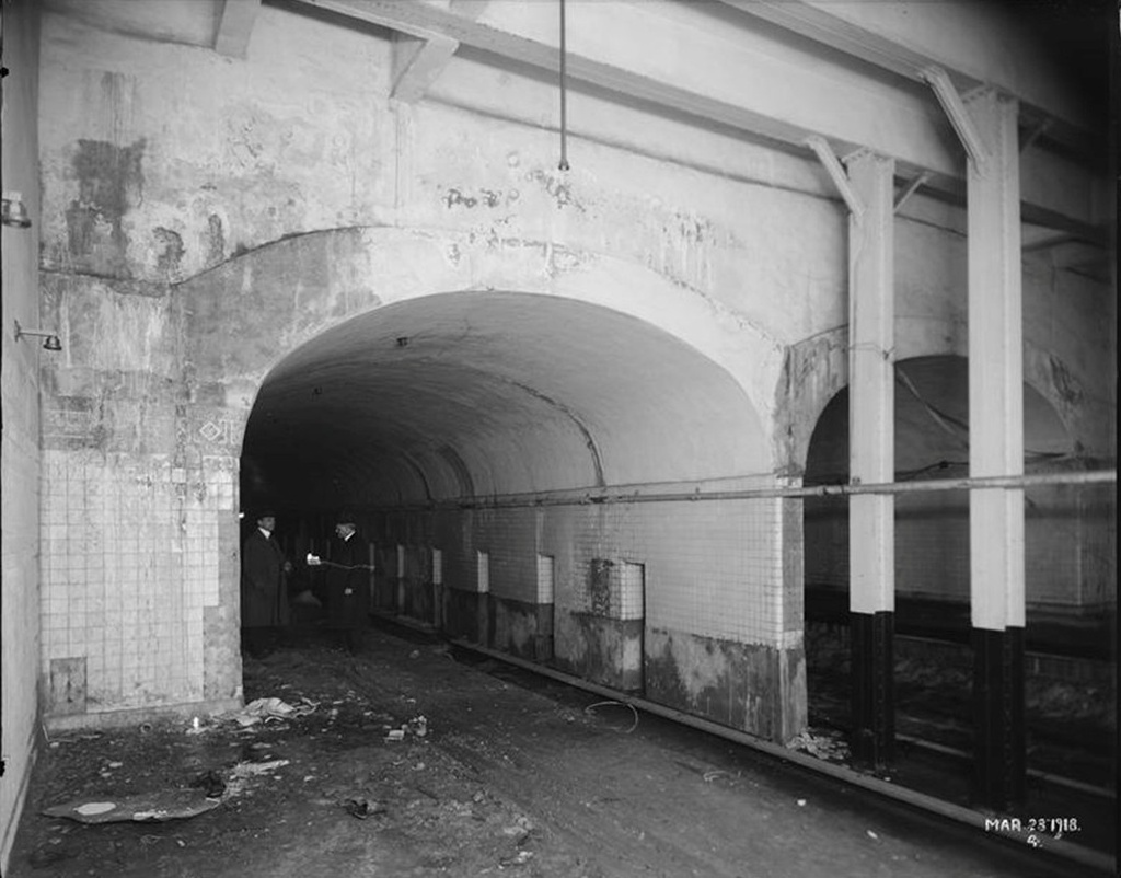 (208k, 1024x802)<br><b>Country:</b> United States<br><b>City:</b> New York<br><b>System:</b> New York City Transit<br><b>Line:</b> IRT East Side Line<br><b>Location:</b> 96th Street <br><b>Collection of:</b> Frank Pfuhler<br><b>Date:</b> 3/23/1918<br><b>Viewed (this week/total):</b> 0 / 2273