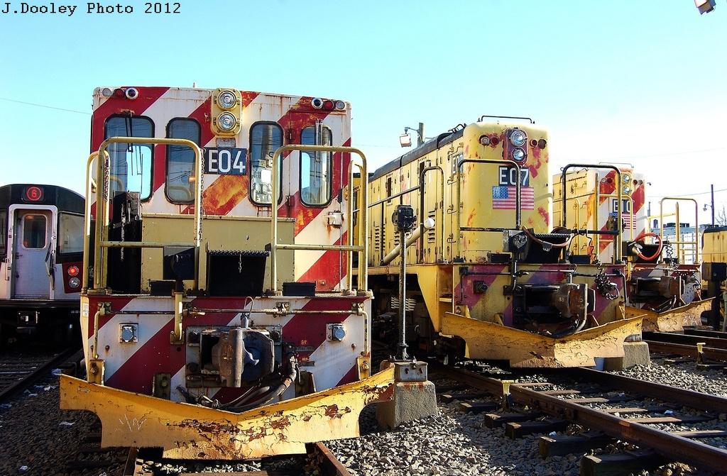 (383k, 1024x671)<br><b>Country:</b> United States<br><b>City:</b> New York<br><b>System:</b> New York City Transit<br><b>Location:</b> Westchester Yard<br><b>Car:</b>  E04/E07/E10 <br><b>Photo by:</b> John Dooley<br><b>Date:</b> 2/26/2012<br><b>Viewed (this week/total):</b> 1 / 490