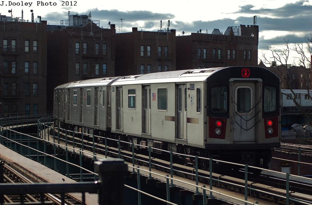 (333k, 1024x673)<br><b>Country:</b> United States<br><b>City:</b> New York<br><b>System:</b> New York City Transit<br><b>Line:</b> IRT Brooklyn Line<br><b>Location:</b> Saratoga Avenue <br><b>Route:</b> 2<br><b>Car:</b> R-142 (Primary Order, Bombardier, 1999-2002)  6650 <br><b>Photo by:</b> John Dooley<br><b>Date:</b> 3/29/2012<br><b>Viewed (this week/total):</b> 0 / 1085