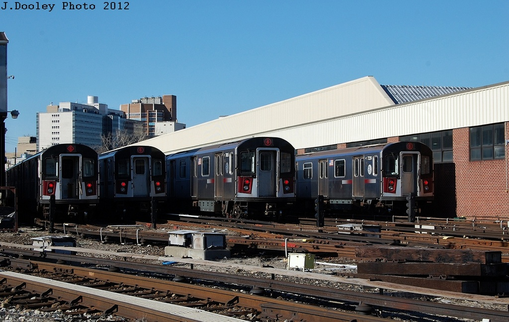 (329k, 1024x647)<br><b>Country:</b> United States<br><b>City:</b> New York<br><b>System:</b> New York City Transit<br><b>Location:</b> Westchester Yard<br><b>Car:</b> R-142A (Primary Order, Kawasaki, 1999-2002)  7226 <br><b>Photo by:</b> John Dooley<br><b>Date:</b> 2/26/2012<br><b>Viewed (this week/total):</b> 1 / 719