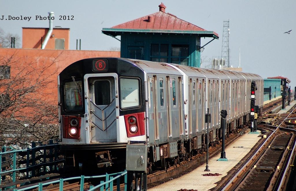 (365k, 1024x663)<br><b>Country:</b> United States<br><b>City:</b> New York<br><b>System:</b> New York City Transit<br><b>Line:</b> IRT Pelham Line<br><b>Location:</b> East 177th Street/Parkchester <br><b>Route:</b> 6<br><b>Car:</b> R-142A (Primary Order, Kawasaki, 1999-2002)  7445 <br><b>Photo by:</b> John Dooley<br><b>Date:</b> 2/22/2012<br><b>Viewed (this week/total):</b> 2 / 1042