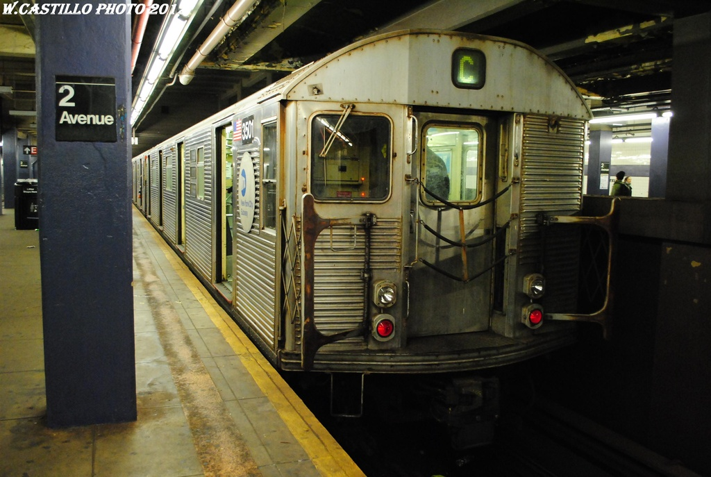 (285k, 1024x687)<br><b>Country:</b> United States<br><b>City:</b> New York<br><b>System:</b> New York City Transit<br><b>Line:</b> IND 6th Avenue Line<br><b>Location:</b> 2nd Avenue <br><b>Route:</b> C reroute<br><b>Car:</b> R-32 (Budd, 1964)  3501 <br><b>Photo by:</b> Wilfredo Castillo<br><b>Date:</b> 3/31/2012<br><b>Viewed (this week/total):</b> 0 / 769