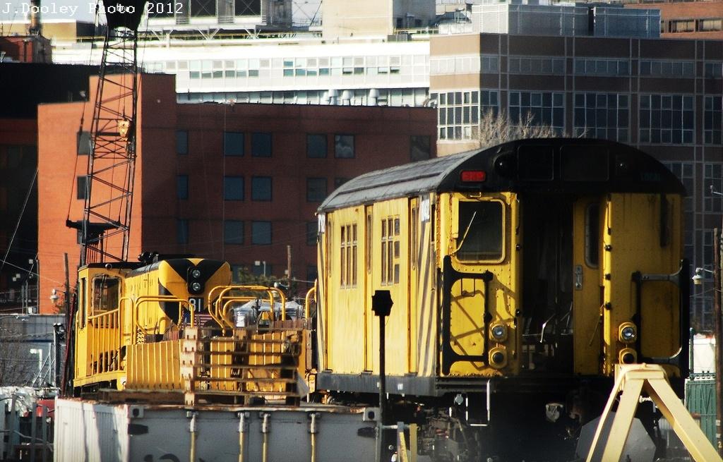 (350k, 1024x655)<br><b>Country:</b> United States<br><b>City:</b> New York<br><b>System:</b> New York City Transit<br><b>Location:</b> Westchester Yard<br><b>Car:</b> R-161 Rider Car (ex-R-33)  RD432 <br><b>Photo by:</b> John Dooley<br><b>Date:</b> 2/22/2012<br><b>Viewed (this week/total):</b> 0 / 664