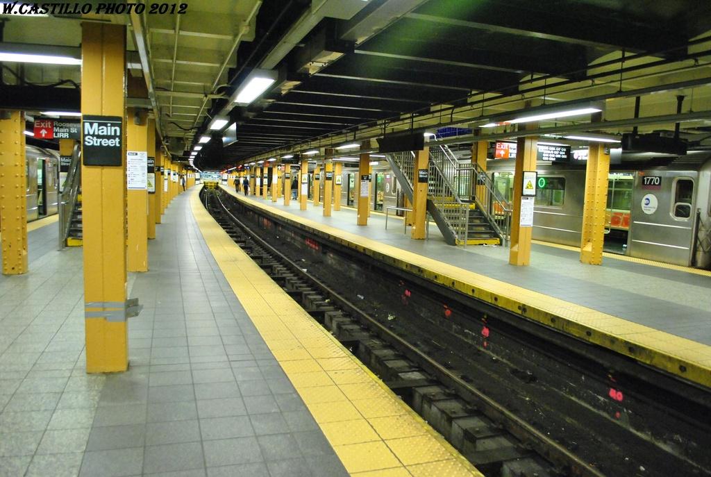 (318k, 1024x687)<br><b>Country:</b> United States<br><b>City:</b> New York<br><b>System:</b> New York City Transit<br><b>Line:</b> IRT Flushing Line<br><b>Location:</b> Main Street/Flushing <br><b>Route:</b> 7<br><b>Car:</b> R-62A (Bombardier, 1984-1987)  1770 <br><b>Photo by:</b> Wilfredo Castillo<br><b>Date:</b> 4/18/2012<br><b>Viewed (this week/total):</b> 0 / 1564