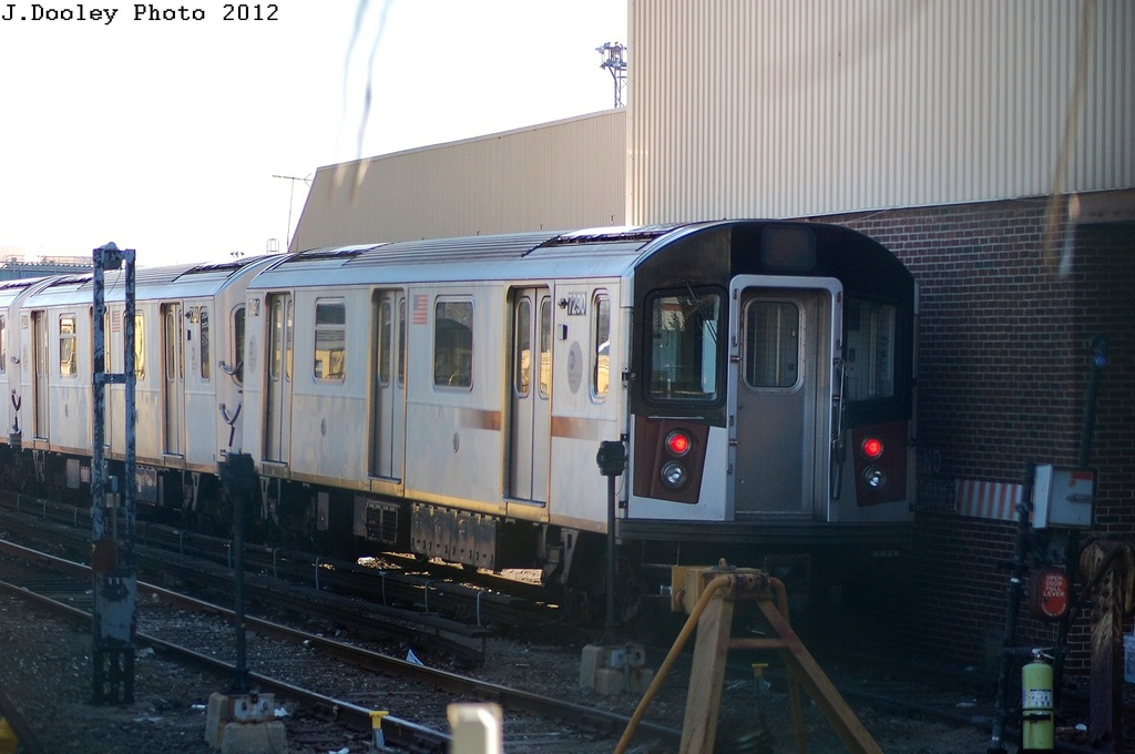 (264k, 1024x680)<br><b>Country:</b> United States<br><b>City:</b> New York<br><b>System:</b> New York City Transit<br><b>Location:</b> Westchester Yard<br><b>Route:</b> 6<br><b>Car:</b> R-142A (Primary Order, Kawasaki, 1999-2002)  7290 <br><b>Photo by:</b> John Dooley<br><b>Date:</b> 2/22/2012<br><b>Viewed (this week/total):</b> 0 / 968