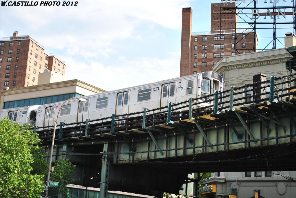 (329k, 1024x687)<br><b>Country:</b> United States<br><b>City:</b> New York<br><b>System:</b> New York City Transit<br><b>Line:</b> BMT Nassau Street/Jamaica Line<br><b>Location:</b> Marcy Avenue <br><b>Route:</b> J<br><b>Car:</b> R-160A-1 (Alstom, 2005-2008, 4 car sets)  8456 <br><b>Photo by:</b> Wilfredo Castillo<br><b>Date:</b> 4/24/2012<br><b>Viewed (this week/total):</b> 0 / 1028