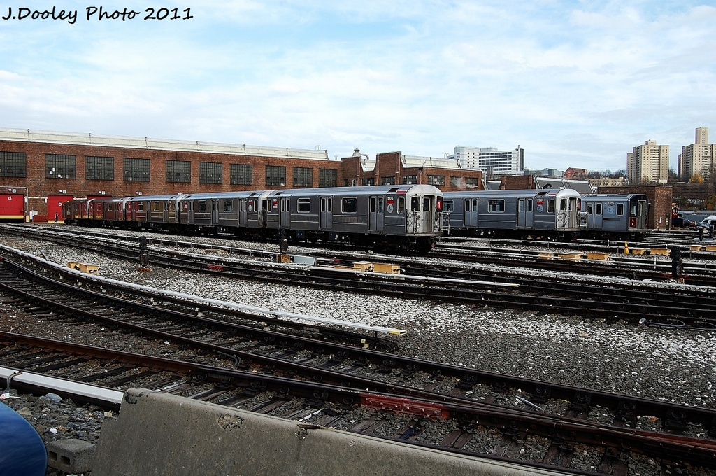 (404k, 1024x680)<br><b>Country:</b> United States<br><b>City:</b> New York<br><b>System:</b> New York City Transit<br><b>Location:</b> 207th Street Yard<br><b>Car:</b> R-62A (Bombardier, 1984-1987)  1926 <br><b>Photo by:</b> John Dooley<br><b>Date:</b> 11/29/2011<br><b>Viewed (this week/total):</b> 2 / 812