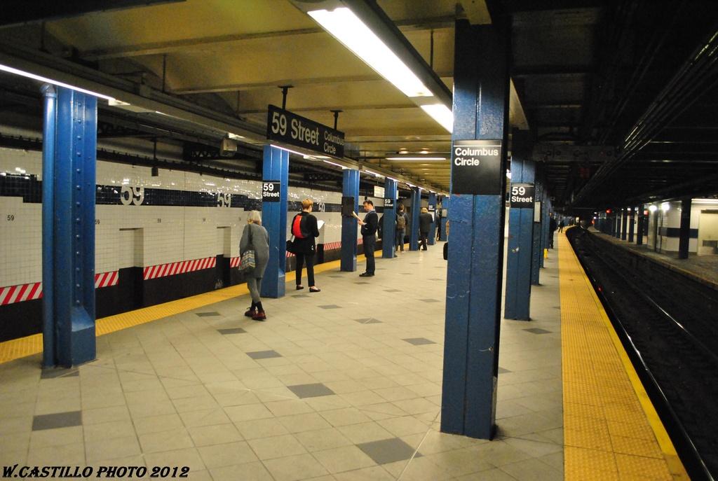 (275k, 1024x687)<br><b>Country:</b> United States<br><b>City:</b> New York<br><b>System:</b> New York City Transit<br><b>Line:</b> IND 8th Avenue Line<br><b>Location:</b> 59th Street/Columbus Circle <br><b>Photo by:</b> Wilfredo Castillo<br><b>Date:</b> 4/25/2012<br><b>Viewed (this week/total):</b> 1 / 1072