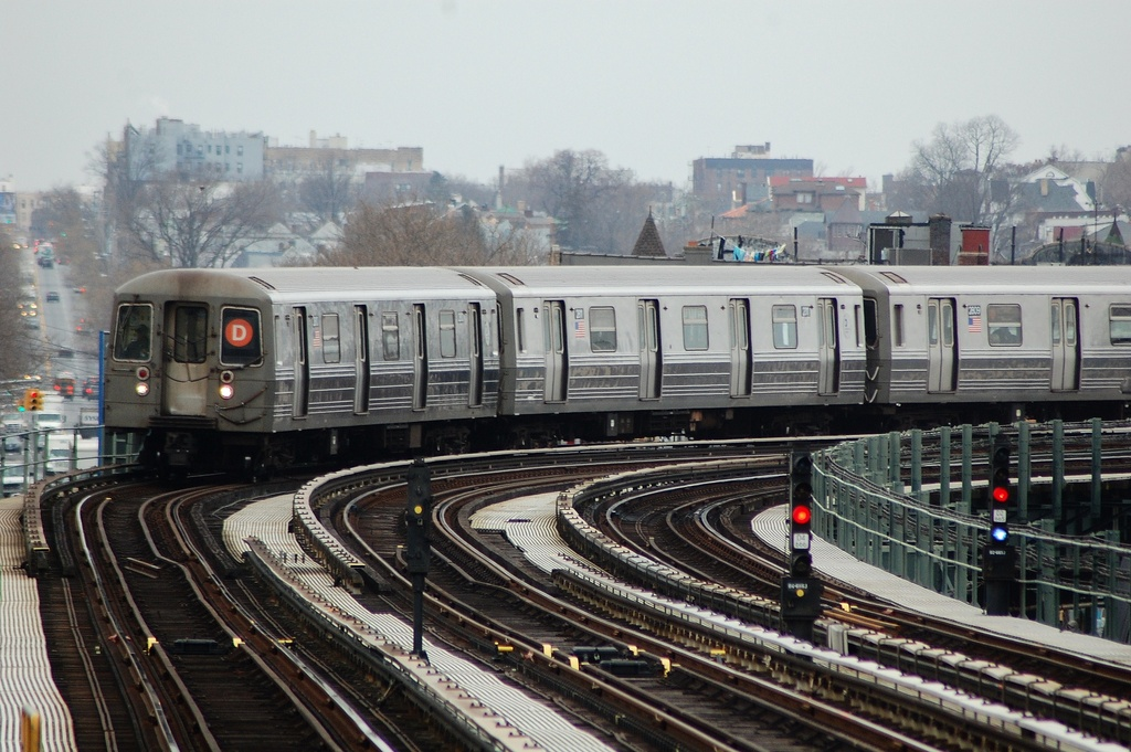 (330k, 1024x681)<br><b>Country:</b> United States<br><b>City:</b> New York<br><b>System:</b> New York City Transit<br><b>Line:</b> BMT West End Line<br><b>Location:</b> 20th Avenue <br><b>Route:</b> D<br><b>Car:</b> R-68 (Westinghouse-Amrail, 1986-1988)  2810 <br><b>Photo by:</b> John Dooley<br><b>Date:</b> 3/2/2012<br><b>Viewed (this week/total):</b> 0 / 1014