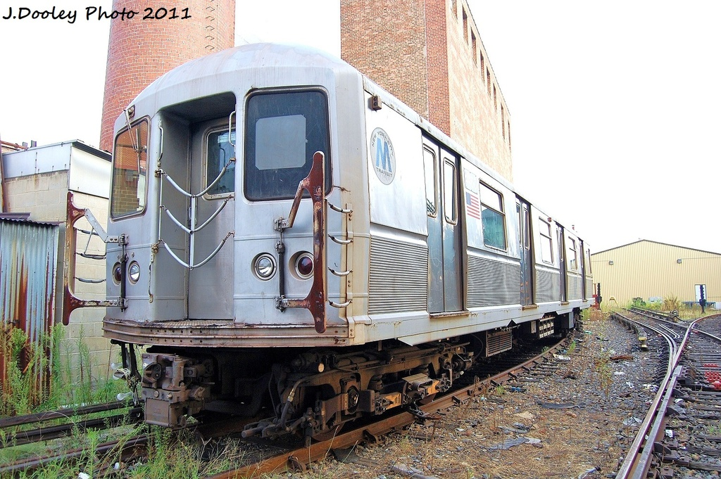 (386k, 1024x681)<br><b>Country:</b> United States<br><b>City:</b> New York<br><b>System:</b> New York City Transit<br><b>Location:</b> Coney Island Yard<br><b>Car:</b> R-40M (St. Louis, 1969)  4450 <br><b>Photo by:</b> John Dooley<br><b>Date:</b> 8/26/2011<br><b>Viewed (this week/total):</b> 1 / 931
