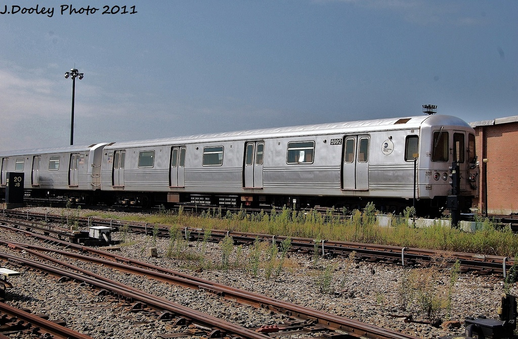 (401k, 1024x670)<br><b>Country:</b> United States<br><b>City:</b> New York<br><b>System:</b> New York City Transit<br><b>Location:</b> Coney Island Yard<br><b>Car:</b> R-46 (Pullman-Standard, 1974-75) 5992 <br><b>Photo by:</b> John Dooley<br><b>Date:</b> 8/26/2011<br><b>Viewed (this week/total):</b> 0 / 472
