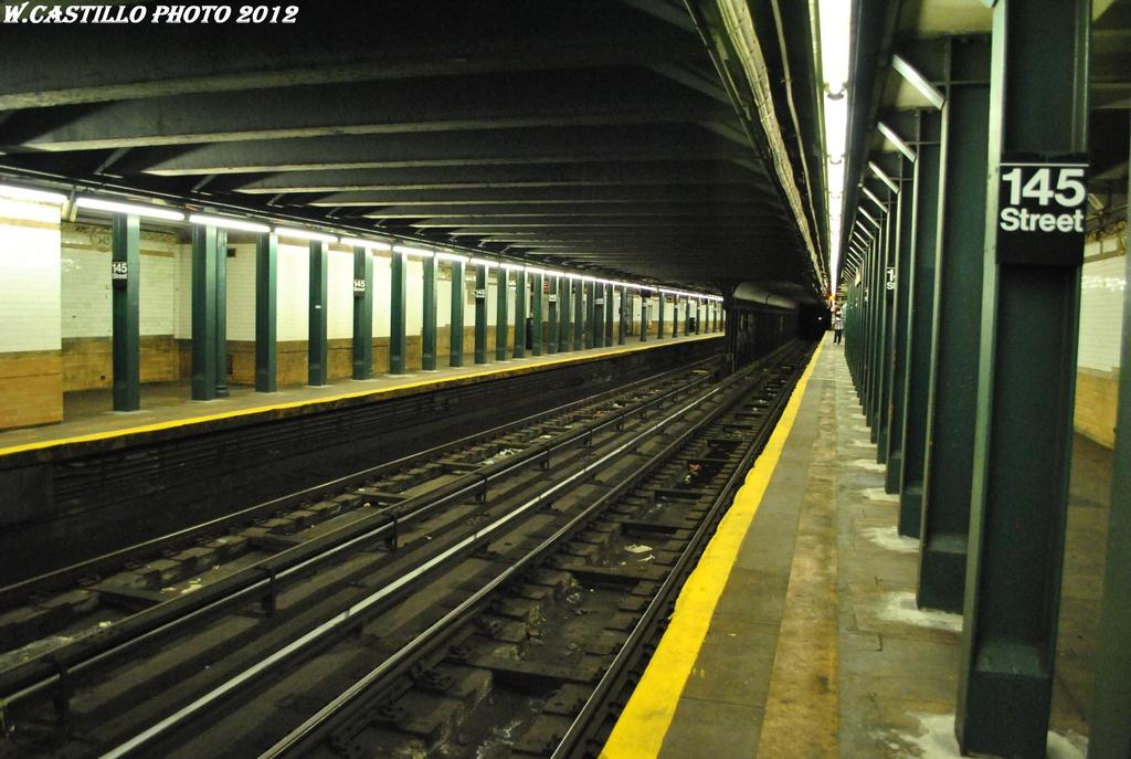 (299k, 1024x687)<br><b>Country:</b> United States<br><b>City:</b> New York<br><b>System:</b> New York City Transit<br><b>Line:</b> IRT Lenox Line<br><b>Location:</b> 145th Street <br><b>Photo by:</b> Wilfredo Castillo<br><b>Date:</b> 4/28/2012<br><b>Viewed (this week/total):</b> 7 / 1518