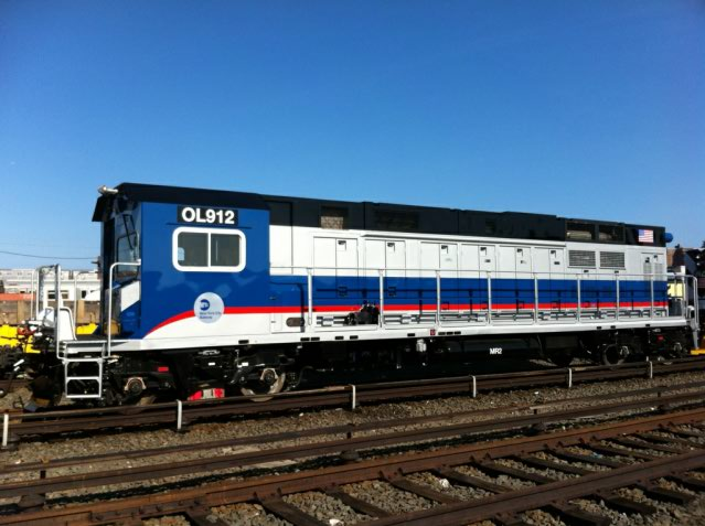 (58k, 639x477)<br><b>Country:</b> United States<br><b>City:</b> New York<br><b>System:</b> New York City Transit<br><b>Location:</b> Coney Island Yard<br><b>Car:</b> R-156 Diesel-Electric Locomotive (MPI, 2012-2013) 912 <br><b>Photo by:</b> The NX<br><b>Date:</b> 5/2012<br><b>Viewed (this week/total):</b> 2 / 1309