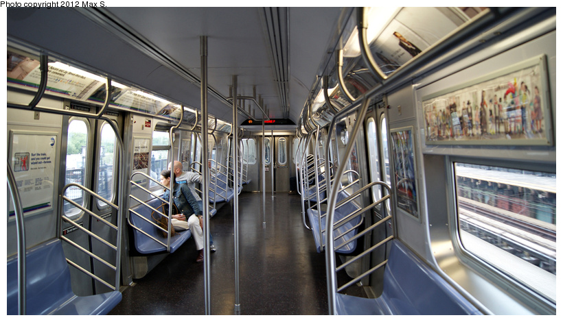 (219k, 820x470)<br><b>Country:</b> United States<br><b>City:</b> New York<br><b>System:</b> New York City Transit<br><b>Car:</b> R-160A (Option 1) (Alstom, 2008-2009, 5 car sets)  9578 <br><b>Photo by:</b> Max S.<br><b>Date:</b> 5/5/2012<br><b>Viewed (this week/total):</b> 1 / 667