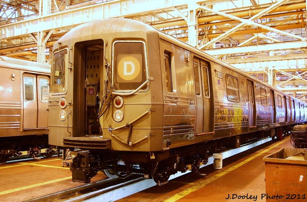 (429k, 1024x673)<br><b>Country:</b> United States<br><b>City:</b> New York<br><b>System:</b> New York City Transit<br><b>Location:</b> Coney Island Shop/Overhaul & Repair Shop<br><b>Car:</b> R-68 (Westinghouse-Amrail, 1986-1988)  2632 <br><b>Photo by:</b> John Dooley<br><b>Date:</b> 8/26/2011<br><b>Viewed (this week/total):</b> 1 / 605