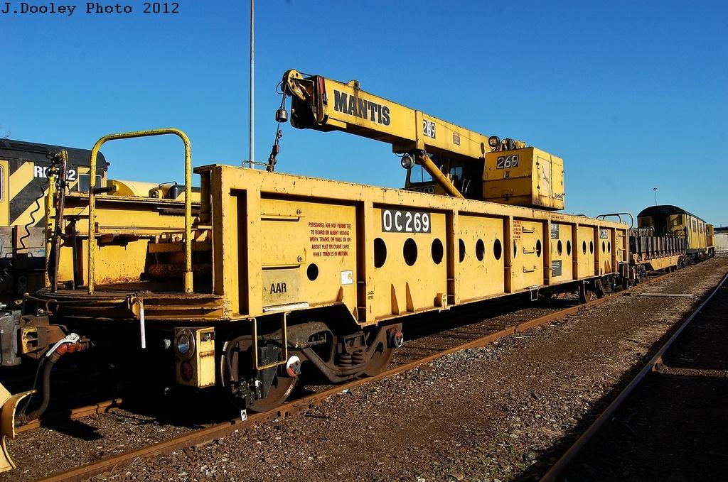 (377k, 1024x679)<br><b>Country:</b> United States<br><b>City:</b> New York<br><b>System:</b> New York City Transit<br><b>Location:</b> Coney Island Yard<br><b>Car:</b> R-113 Crane Car  269 <br><b>Photo by:</b> John Dooley<br><b>Date:</b> 2/26/2012<br><b>Viewed (this week/total):</b> 0 / 586