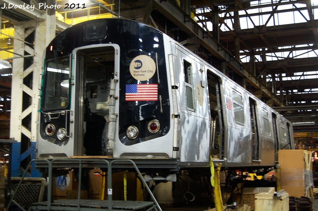 (359k, 1024x680)<br><b>Country:</b> United States<br><b>City:</b> New York<br><b>System:</b> New York City Transit<br><b>Location:</b> Coney Island Shop/Overhaul & Repair Shop<br><b>Car:</b> R-143 (Kawasaki, 2001-2002) 8277 <br><b>Photo by:</b> John Dooley<br><b>Date:</b> 11/29/2011<br><b>Viewed (this week/total):</b> 5 / 1593
