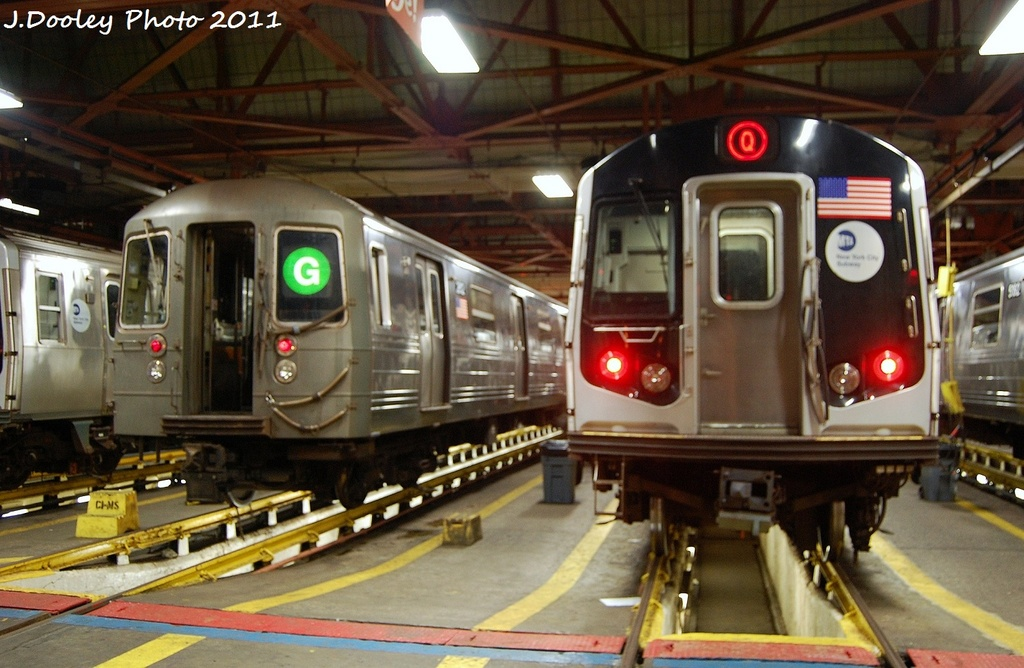(315k, 1024x668)<br><b>Country:</b> United States<br><b>City:</b> New York<br><b>System:</b> New York City Transit<br><b>Location:</b> Coney Island Shop/Maint. & Inspection Shop<br><b>Car:</b> R-68 (Westinghouse-Amrail, 1986-1988)  2912 <br><b>Photo by:</b> John Dooley<br><b>Date:</b> 10/15/2011<br><b>Viewed (this week/total):</b> 0 / 1529