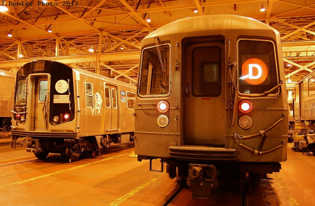 (370k, 1024x671)<br><b>Country:</b> United States<br><b>City:</b> New York<br><b>System:</b> New York City Transit<br><b>Location:</b> Coney Island Shop/Overhaul & Repair Shop<br><b>Car:</b> R-143 (Kawasaki, 2001-2002) 8189 <br><b>Photo by:</b> John Dooley<br><b>Date:</b> 2/27/2012<br><b>Viewed (this week/total):</b> 0 / 572