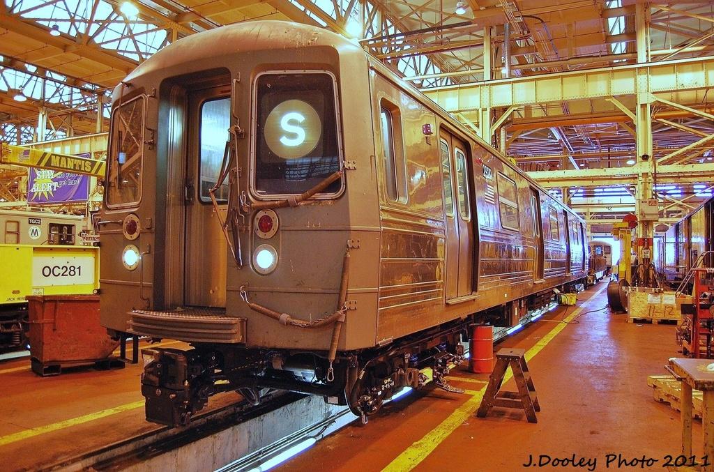 (455k, 1024x677)<br><b>Country:</b> United States<br><b>City:</b> New York<br><b>System:</b> New York City Transit<br><b>Location:</b> Coney Island Shop/Overhaul & Repair Shop<br><b>Car:</b> R-68 (Westinghouse-Amrail, 1986-1988)  2920 <br><b>Photo by:</b> John Dooley<br><b>Date:</b> 8/26/2011<br><b>Viewed (this week/total):</b> 4 / 887