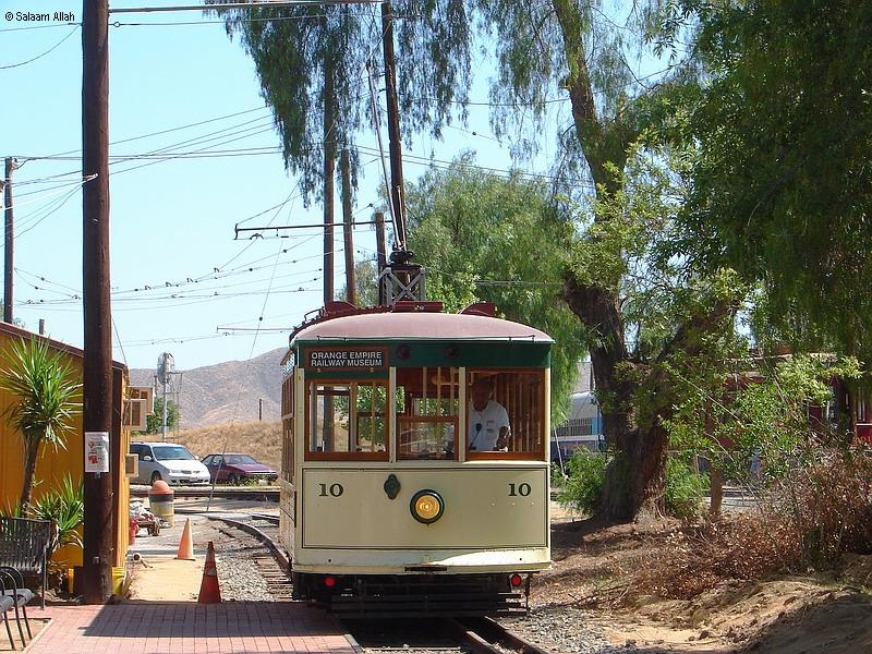 (560k, 800x600)<br><b>Country:</b> United States<br><b>City:</b> Perris, CA<br><b>System:</b> Orange Empire Railway Museum <br><b>Car:</b>  10 <br><b>Photo by:</b> Salaam Allah<br><b>Date:</b> 6/19/2010<br><b>Viewed (this week/total):</b> 0 / 666